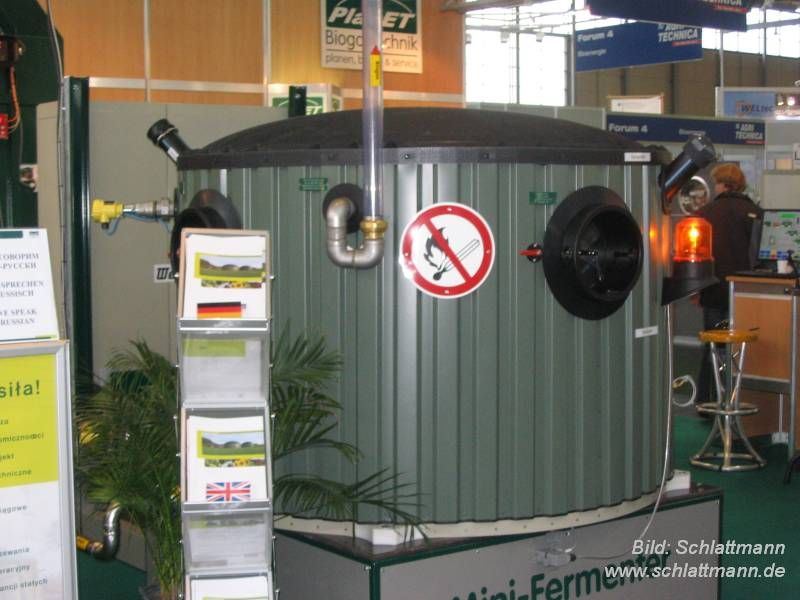Gemeinsame Biogas-Community - Bild: Mini-Versuchsfermenter PlanET &RU_77